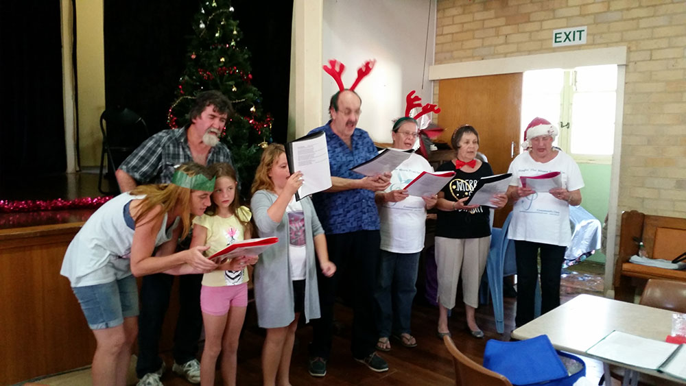 Community Kitchen Singers at Christmas